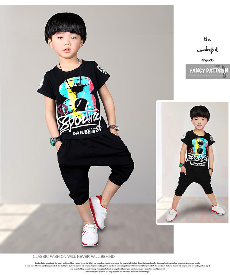 d40699be8f255 Cool Design 2T 10T 2016 New Toddler Boys Clothing Children Summer ...