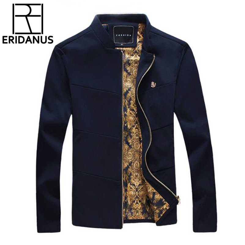 Buy 2016 Autumn Arrival Men Fashion Korean Style Slim Classic Stand-up Collar Design Coat Male Simple Business Casual Jacket M358