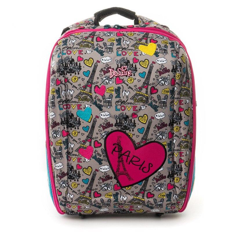 2019 Children s Cute Backpacks Kids Cartoon School Bags Backpack for Boys Girls 3D Orthopedic Schoolbag