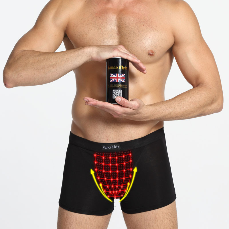 Mens Underwears Boxer Shorts Brand 26 Stars Magnetic Therapy Canned Boxers Underwear Male Sexy Health Care