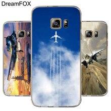 DREAMFOX L561 Aircraft Soft TPU Silicone Case Cover For Samsung Galaxy Note S 5 6 7 8 9 10 10e Lite Edge Plus Grand Prime