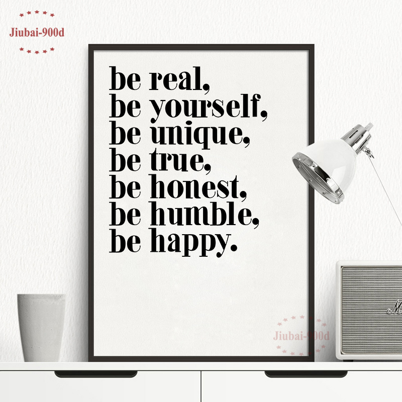 Inspiration Quote Canvas Painting Poster,Wall Pictures For Living Room Home Decoration Print On Canvas,Decoration Pictures FA142