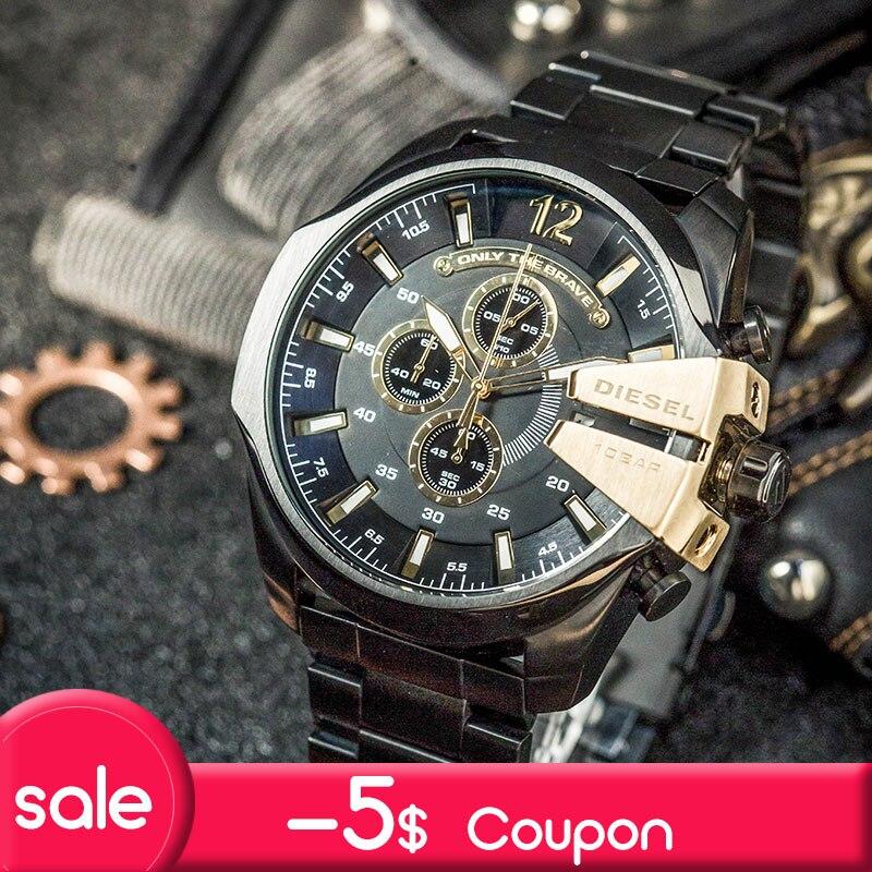 все цены на Diesel watch 2018 new watch new watch Fashion sports leisure Watch DZ4338 онлайн
