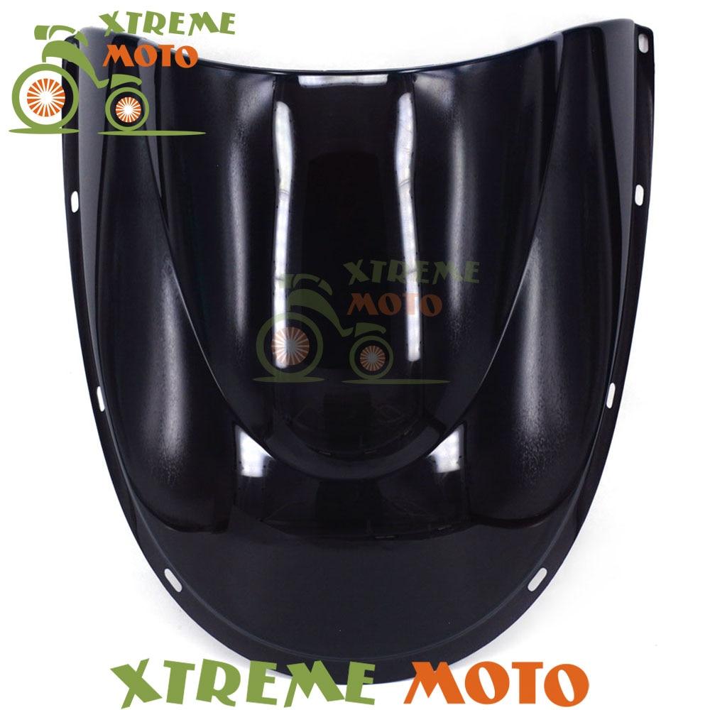 Black Motorcycle Windscreen Windshield For Ducati 748 916 996 998 Motocross Motorbike Dirt Bike abs fairing kit for ducati 748 916 996 998 03 04 05 ducati 748 916 996 998 2003 2004 2005 red white fairings set 7gifts dc10