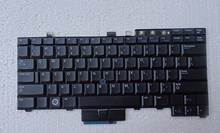 laotop keyboard for DELL for Latitude E6400 E6410 M2400 E6500 US layout backlight