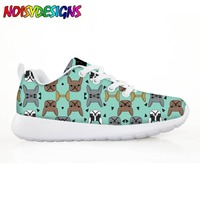 French Bulldogs Children's Shoes Sneakers for Children Boys Girls Animal Dog Pattern Kids Casual Flats Comfortable Lace up Shoe