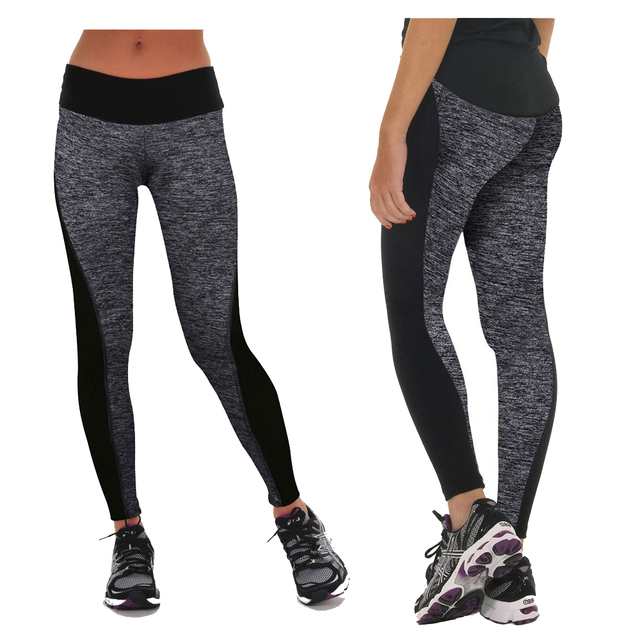 CROSS1946 Women's Quick Dry Fitness Sports Trousers Running Tights Elastic Leggings