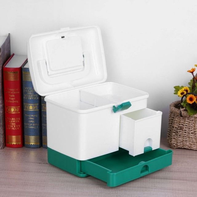 Grosse Verbandskasten Haushalt Layer First Aid Kit Grosse Medizin Box
