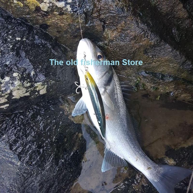 TSURINOYA 5PCS/LOT 12.9cm/14.8g Floating Minnow Sea Bass Lure With 3 Treble Hooks Fishing Lure Hard Lure