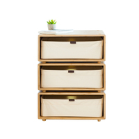 Night Table DIY Free Combine Side Table Storage Night Table Cabinet Living Room TV Stand Home Furniture