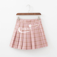 Pleated Skirts Summer Women High Waist Plaid Skirt 2017 Fashion Casual Elegant A Line Slim Short