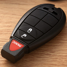 Remote Case Smart Key Shell For Dodge Grand Ram Chrysler Volkswagen Replacement Fob Keyless Entry Transmitter Blade 3Buttons