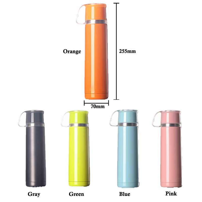 Size of vacuum water bottle