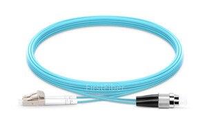 Image 4 - Cabo de remendo da fibra do sc fc st upc om3 de 15m lc, ligação em ponte frente e verso, cabo de remendo multimodo 2.0mm de 2 núcleos