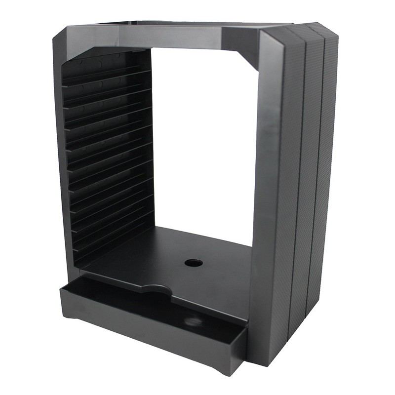 buy universal game u0026 blu ray disc storage tower shelf stand kit for xbox one ps3 ps4 w original retail box from reliable shelf life green