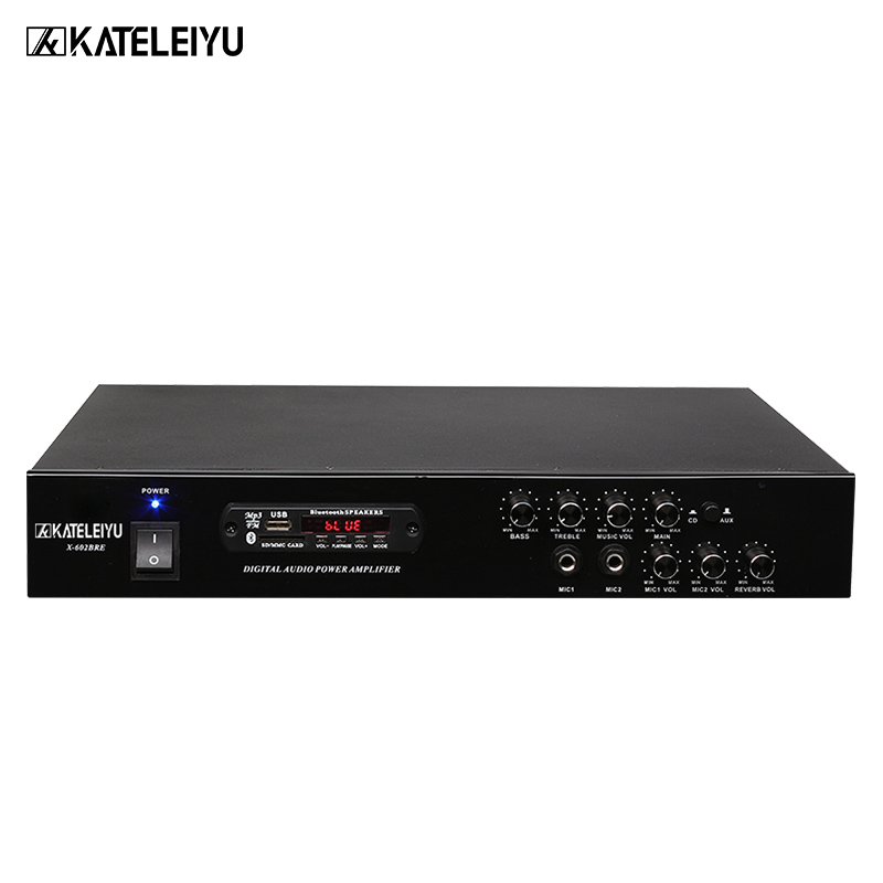 Dj-equipment Verstärker 602 Drahtlose Bluetooth Eingebaute Fm Radio Usb Sd-karte Mp3-wiedergabe High Und Low Ton Und Halleffekt Einstellung Mit Verkaufspreis