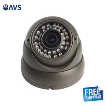 Safety Clear CMOS 720P 1.0MP Vandalproof CCTV CVI Dome Camera Syetem with 2.8-12mm Varifocal Lens