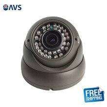 Safety Clear CMOS 720P 1.0MP Vandalproof CCTV CVI Dome Camera Syetem with 2.8-12mm Varifocal Lens
