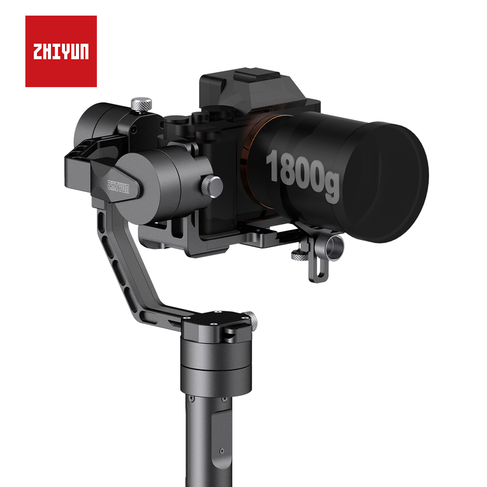 ZHIYUN официальный кран V2 3 оси портативный монопод с шарнирным замком 360 градусов стабилизатор для DSLR Камера для sony Canon Panasonic