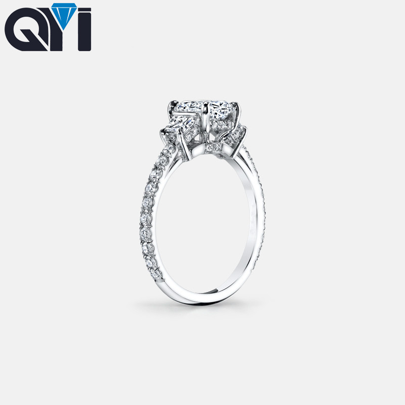 Solid 925 Sterling Silver Oval Cut Simulated Diamond Engagement Ring Sz-8 .
