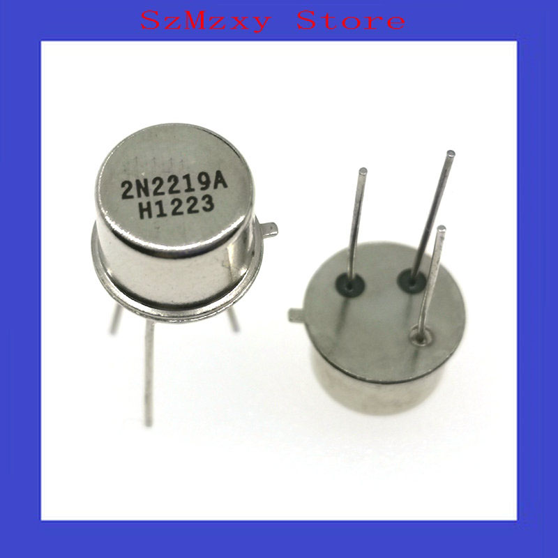 10PCS 2N2219 2N2219A Transistors TO-39 MOT NEU