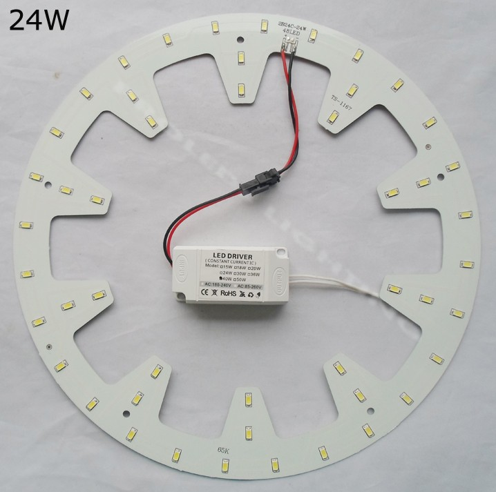 2019 Replace 50w Fluorescent Tube Diy Round 24w Led Down