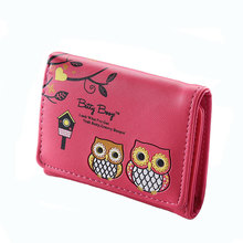 New Arrival Cute Wallet Short Women Zipper Purse Coin Portefeuille Femme Money Clip
