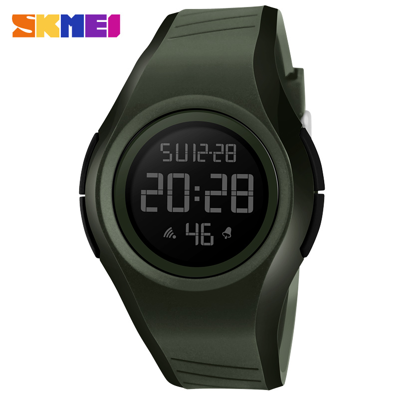 SKMEI Brand LED Digital Mens Military Watch Men Sports Watches 5ATM Fashion Outdoor Casual Men Wristwatches