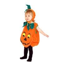 Children Pumpkin Costumes Halloween Christmas Carnival Fancy Dress Girls Boys Halloween Costume For Kids CQS0011