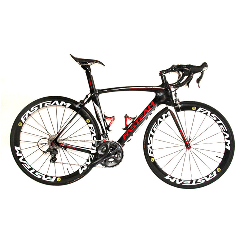 HOT SALE 2017 Full Carbon 700C Road Bike Carbon DIY Complete Bicycle With Ultegra R8000 22 Speed Groupset And 50MM Wheelset epos 8000 700 22 68 87