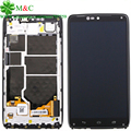 Original XT1254 LCD Panel For Motorola Moto Droid Turbo XT1254 LCD Display Touch Screen Digitizer With Frame Assembly Free Track