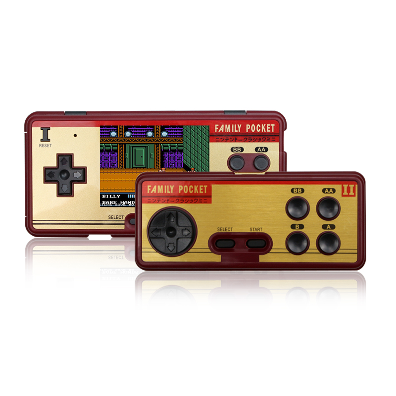 Portable Video Game Players Built in 638 Games Console 8 Bit Retro Handheld Game Console Support AV Out Put