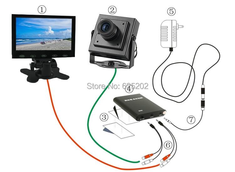 Rejestrator Super Mini AHD 1 kanałowy rejestrator mobilny Obsługa - Bezpieczeństwo i ochrona - Zdjęcie 4