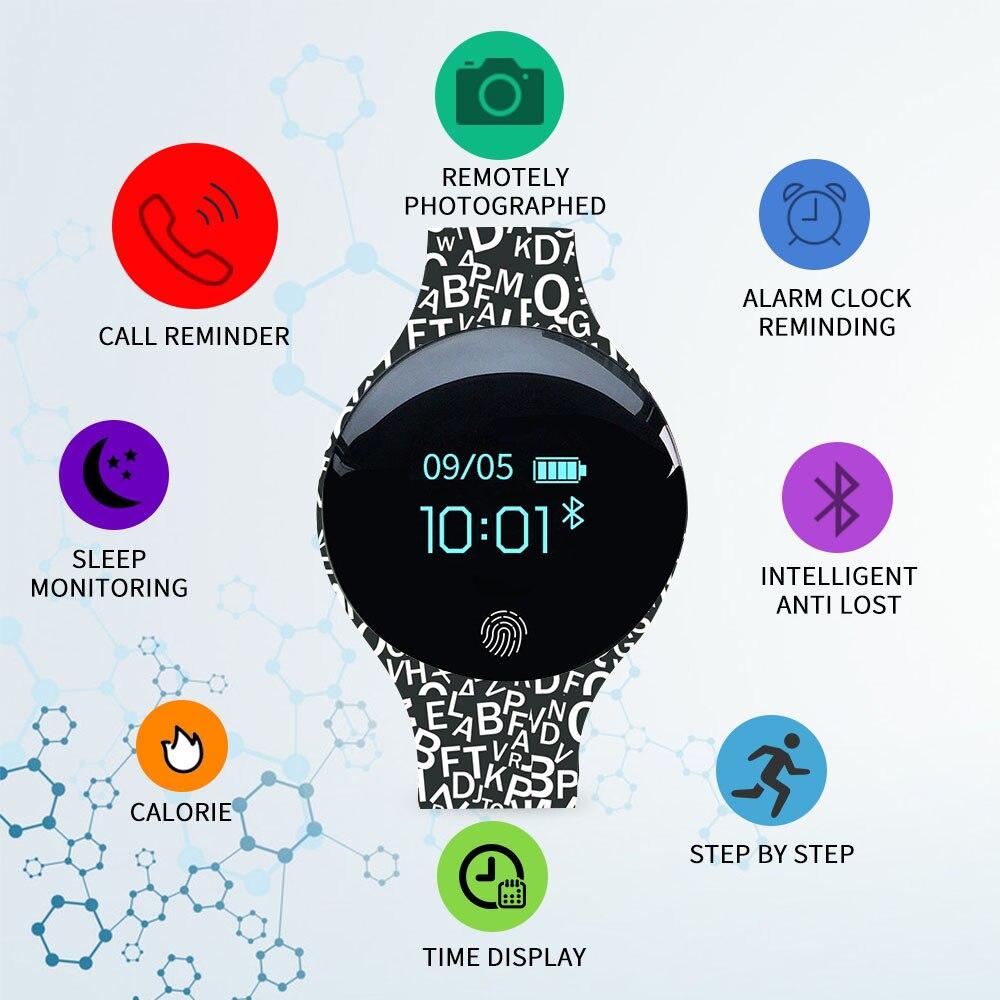 Women Sport Watch Sleep Tracker Luxury Smart Watch Calorie Ladies Bracelet Led Watch Bluetooth Camera Smartwatch For Android IOS|Women's Watches| |  - title=