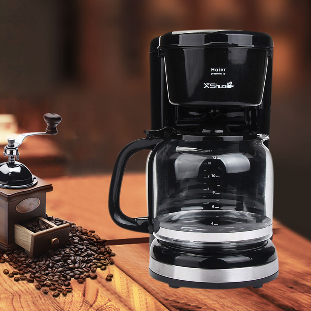 12-cup Home  Coffee Maker One Button Fancy Coffee Machine Home Automatic Commercial High Pressure Steam Small