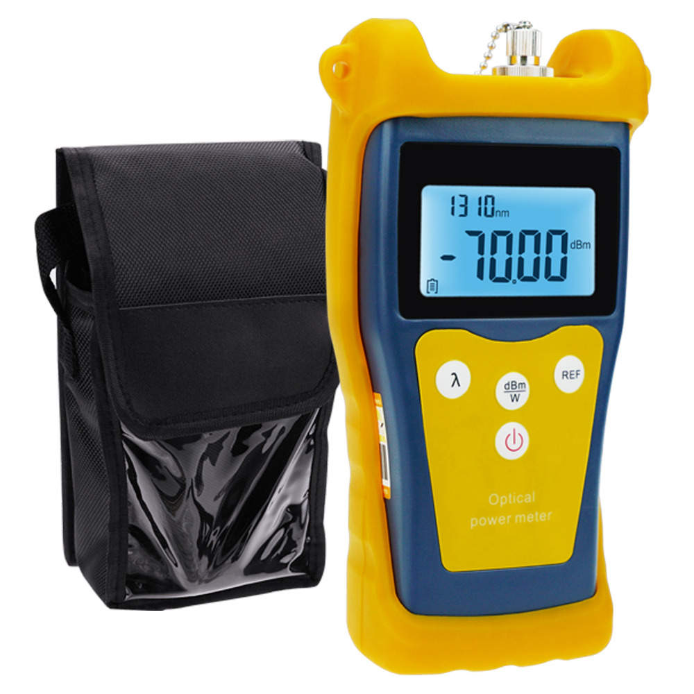 New Fiber Optical Power Meter Fault locator Telecommunications Engineering Maintenance Cabling System -50 ~ +26 dBm free shipping noyafa nf 906c new optical power meter 850 1300 1310 1490 1550 1625nm and detecting range dbm 50 26