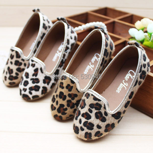 buy popular new arrivals buy online Girls Kids Coffee Clogs,Children Kids Summer leopard print ...
