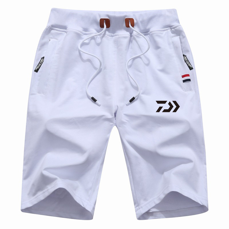 Drop Shipping M-5XL Daiwa Big Size Men Fishing Short Pant Summer Outdoor Hiking Climbing Sports Pants Fishing Clothing Trousers
