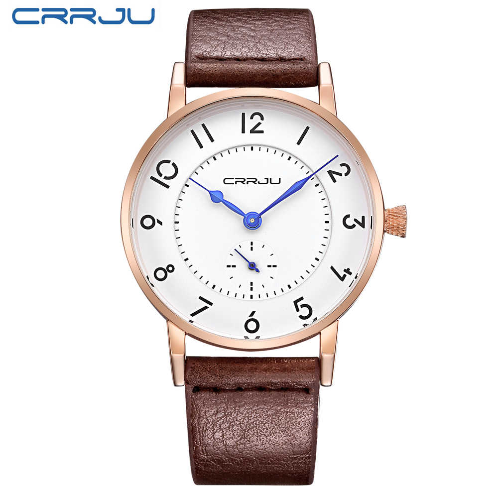 2016 marque de luxe hommes montres Ultra mince en cuir véritable horloge mâle Quartz Sport montre hommes étanche décontracté montre-bracelet relogio