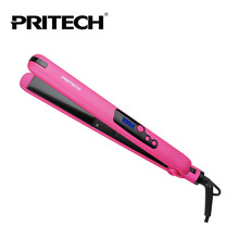 Buy PRITECH Brand Fashion Hair Straightener With LCD Display  Portable Hair Straightener Ceramic Coating Plates Color Random