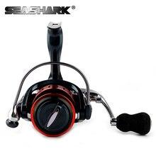 SEASHARK  Metal 14BB Spinning Fishing Reel 1000-7000 Series Gapless Metal Head Spinning Wheel