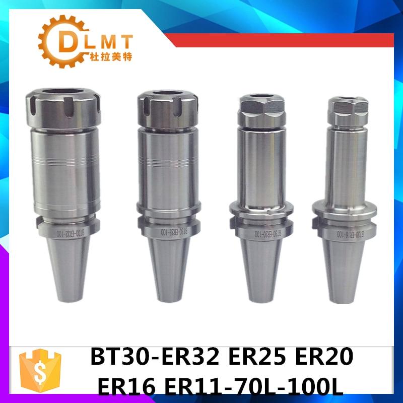 BT30 ER32 60L BT30 ER32 100L BT30 ER25 ER20 ER16 ER11 60L BT30 ER25 ER20 ER16ER11 100CNC Fräsen Maschine Chuck 0,005mm Präzision