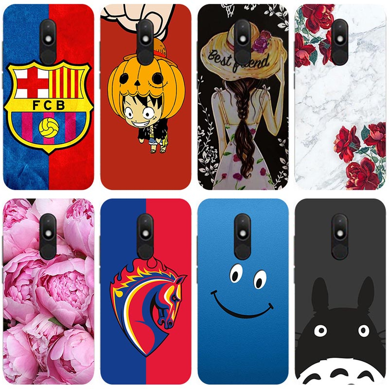 Soft silicone Phone Cases for Wiko Wim Lite Soft TPU Material Phone Case Back Cover Coque Print painting Flower style