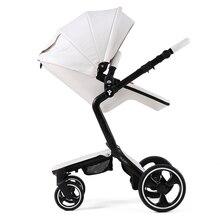 Luxury 2 in 1 Baby Stroller foofoo High View Prams European Folding Baby Carriage For Newborns Poussette Kinderwagen