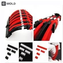 Гребень линии cpu GPU Удлинительный кабель комбинированный, черный, красный, белый диаметр провода 2,3 мм 3,3 мм режущая линия машина кулер воды гаджет инструменты