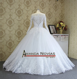Image 4 - Amanda Novias High end Quality Custom Made Wedding Dresses 2018
