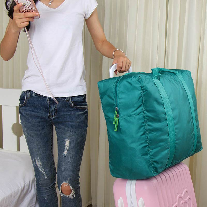 New Waterproof Nylon Folding Foldable Home Travel Package Men Women Storage Bag  KA-BEST