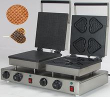 Commercial use Electric rectangle cone waffl maker_egg waffle maker