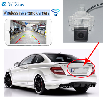 YESSUN For Mercedes Benz C Class W204 2012~2014 Reverse Camera Auto Wireless Rear View Camera Rear View Camera  Night Vision