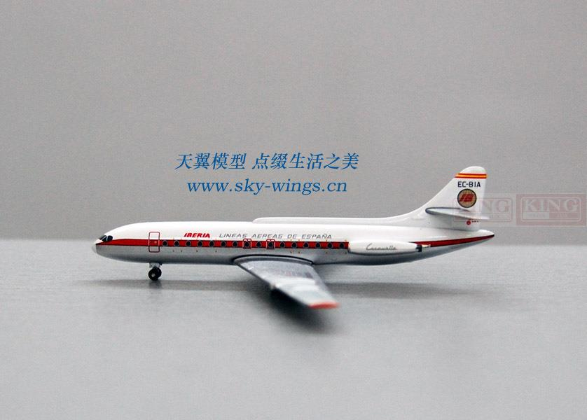 Inflight Spain Airlines EC-BIA SE-210 commercial jetliners plane model hobby phoenix 10653 italy airlines b777 200 ei ddh skyteam no commercial jetliners plane model hobby